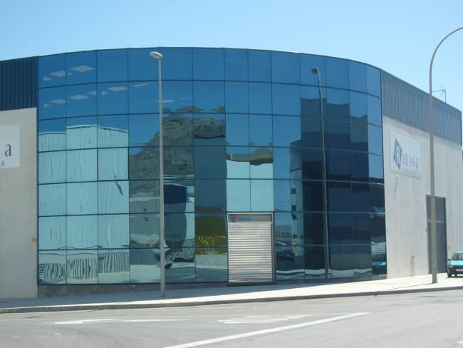 Empresa de aluminio en alicante - Fachada nave industrial ...